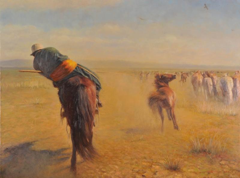 Horseman II (牧马人)