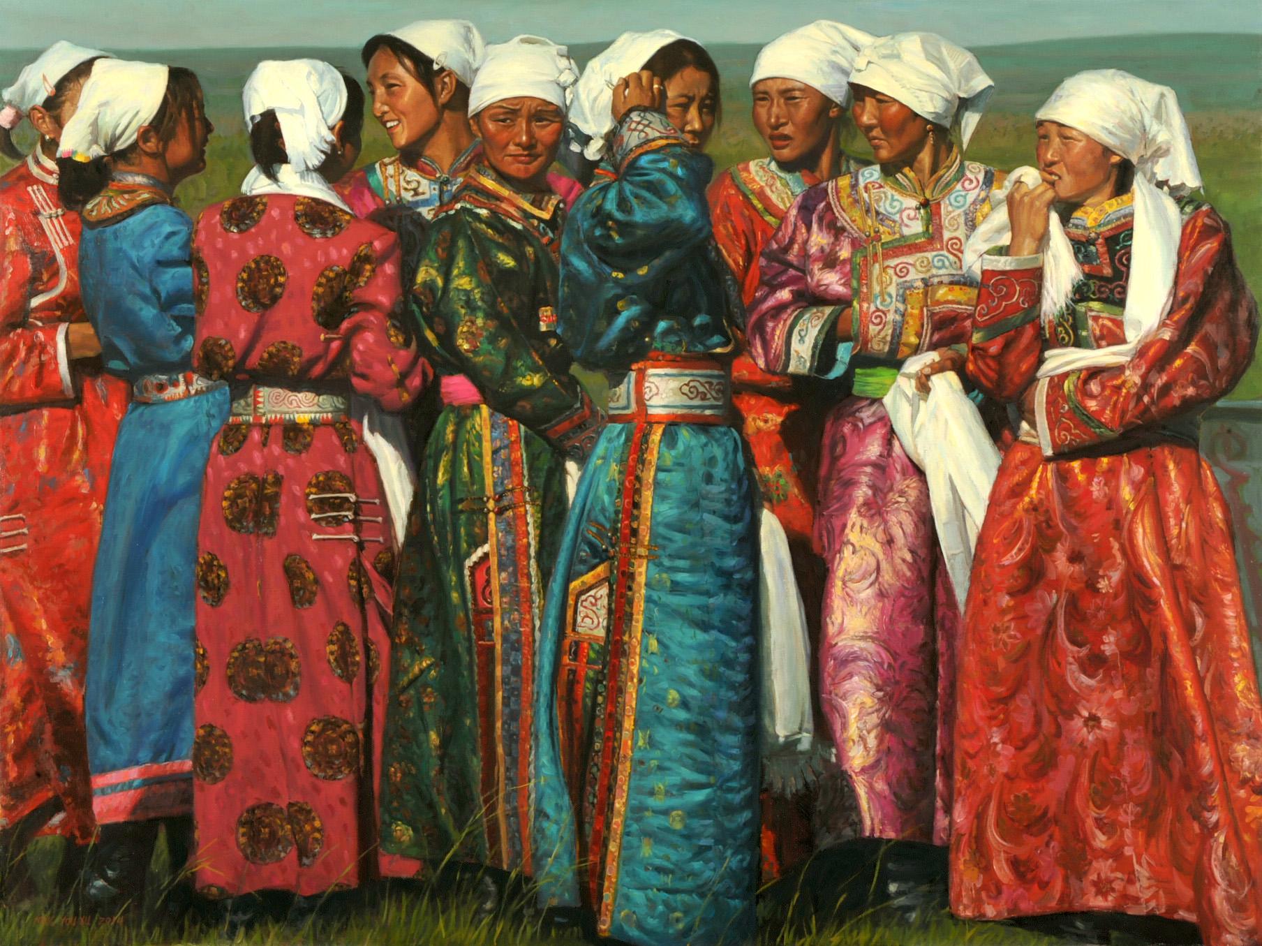 White Headscarves