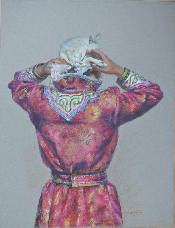 Tying a Headscarf